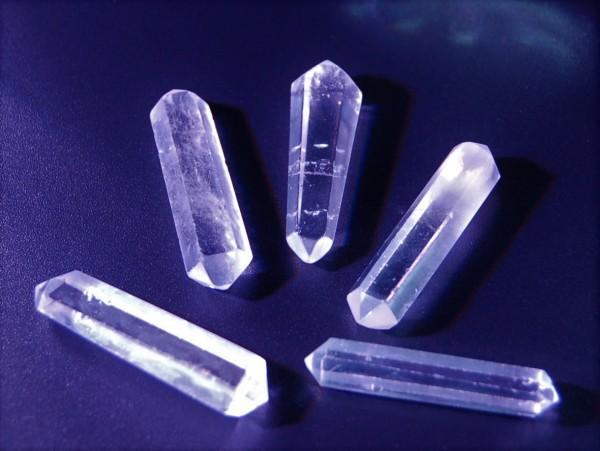 Bergkristall Doppelender
