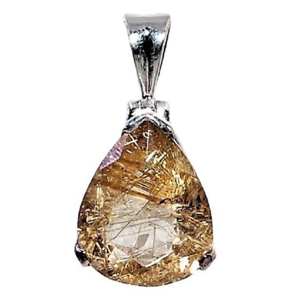 rutilequarz pendant