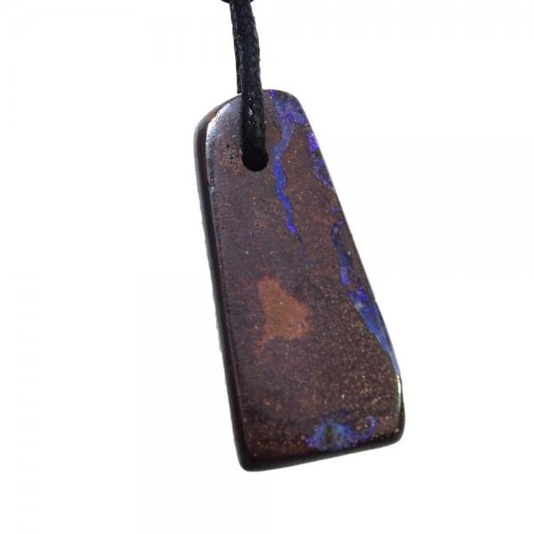 Opal Boulderopal Anhänger gebohrt