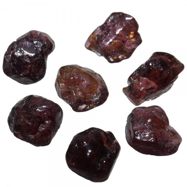 Zirkon Hyazinth Trommelstein rot ca. 10mm