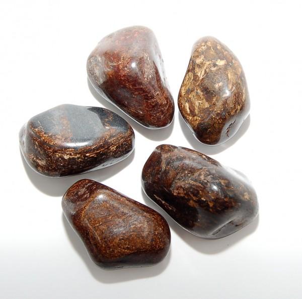 Bronzit Trommelstein L
