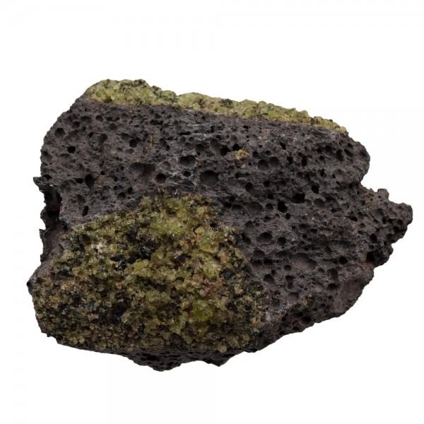 Peridot in Lava Mineral Rohstein N°326