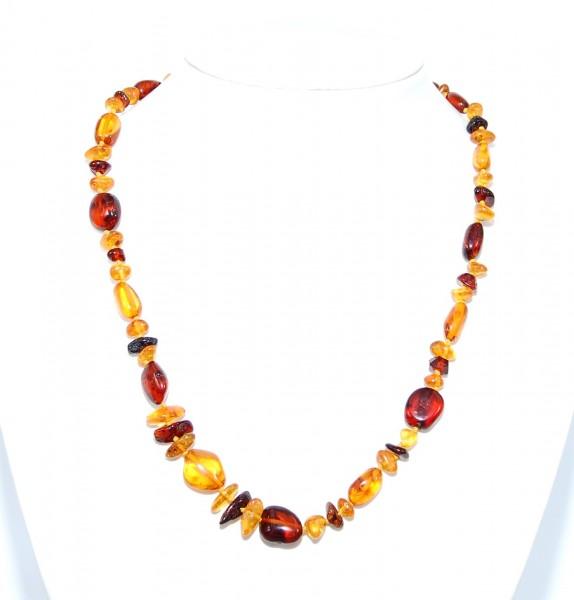 Bernstein Halskette modern Style