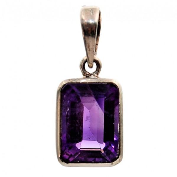 Amethyst Silberanhänger Unikat N°202