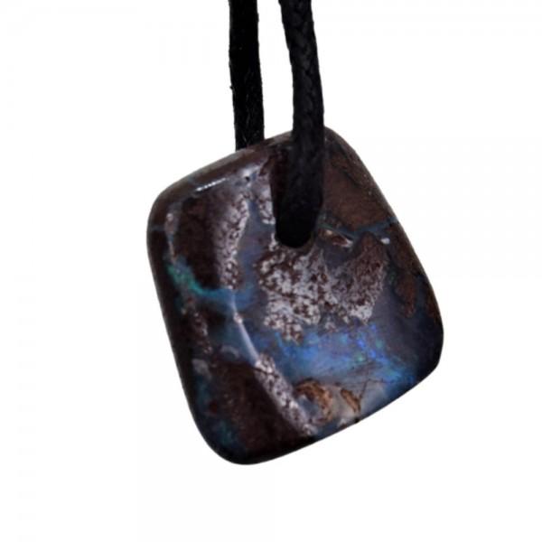 Opal Boulderopal Anhänger gebohrt N°205