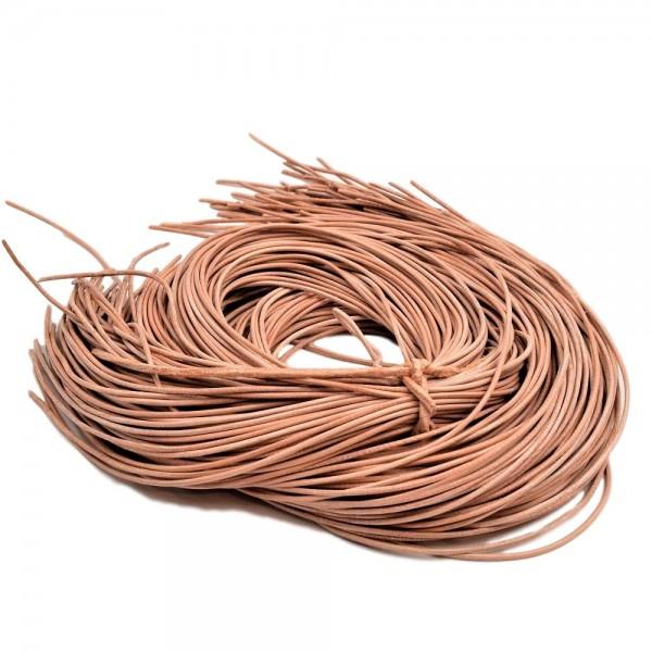 best website caa9b 1daed Lederband natur | Weiches Ziegenleder 1 Stück ca. 1m x 1,5mm zum  individuellen Knoten