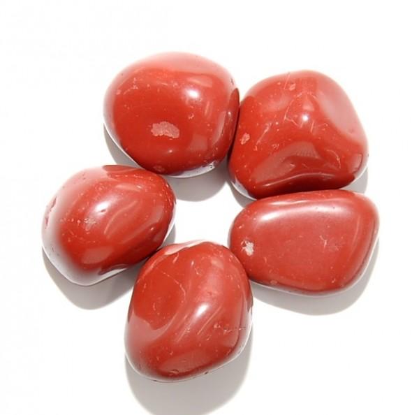 Jaspis rot Trommelstein L