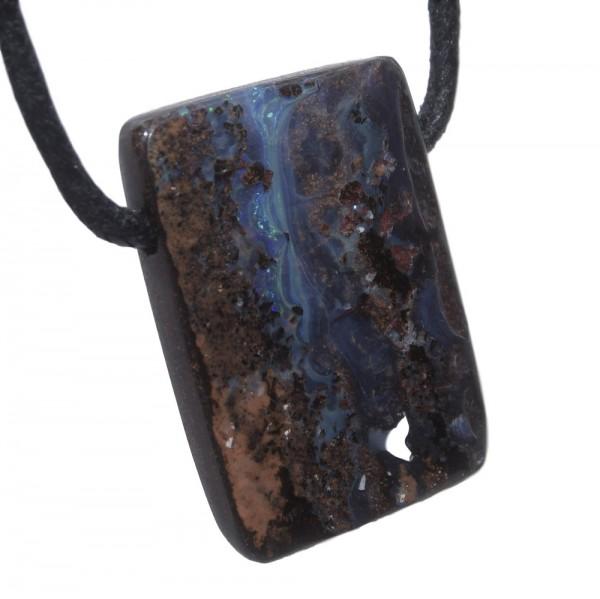 Opal Boulderopal Anhänger gebohrt N°773