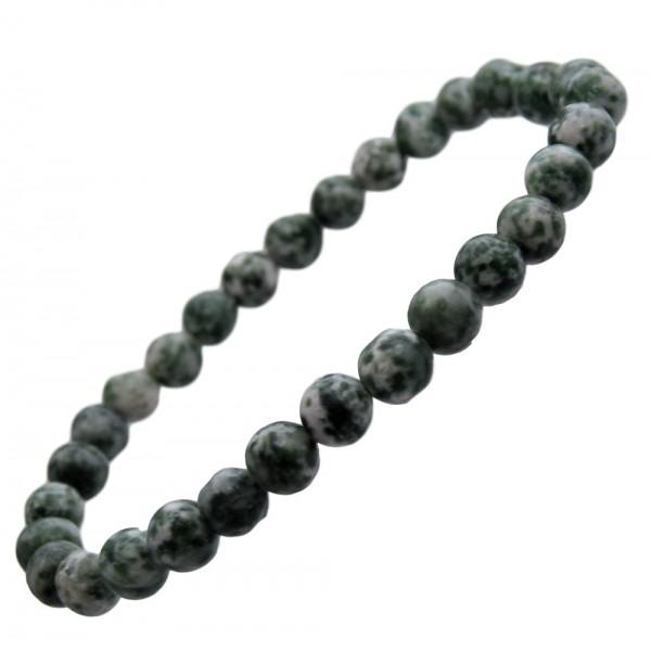 Baumachat Armband 6 mm Kugel