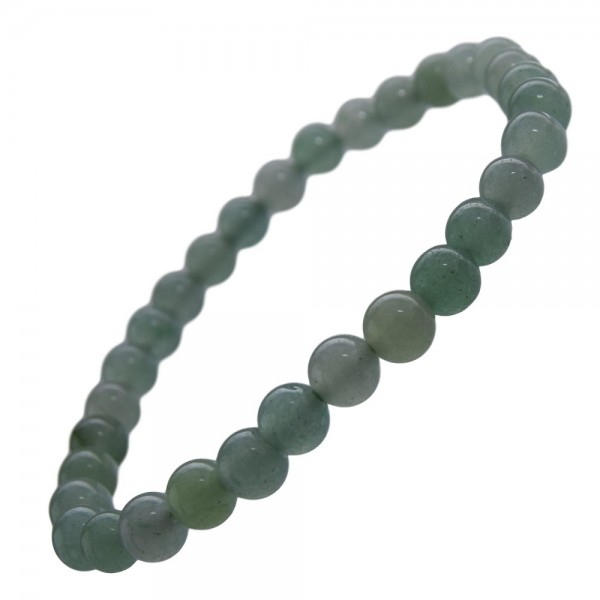 Aventurin Armband grün 6 mm Kugel