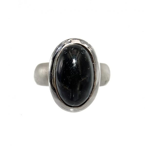 Diopsid Ring Silber Unikat Gr. 56